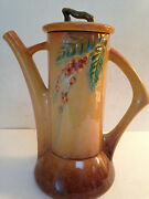 Roseville Pottery Coffee Pot-Vintage-Rare-Wincraft