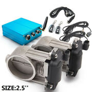 2.5 Dual Exhaust Valve With Electric Control Box For Exhaust Catback Downpipe