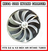 Chevy Truck Air Supercharger Performance Turbo Fan Kit For 3.5 - 4 Inch Intake