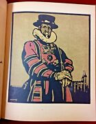 1898 London Types By William Nicholson 1st American Edition 12 Woodblock Litho