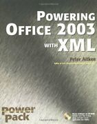 Powering Office 2003 With Xml Power Pack By Aitken, Peter G. 0764541226 The