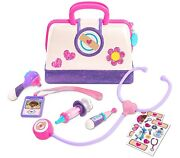 Just Play Disneyand039s Doc Mcstuffins Toy Hospital Doctorand039s Bag Set W/ Thermometer