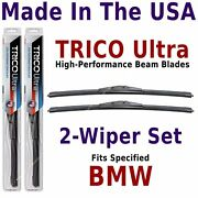 Buy American Trico Ultra 2-wiper Blade Set Fits Listed Bmw 13-17-17