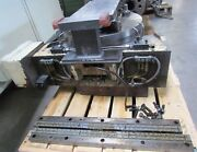 4th Axis Rotary Table From Kitamura Mycenter H400