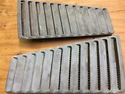 1967 1968 Ford Mustang Gt Fastback F/b Used Fomoco Roof Vent Louver Set