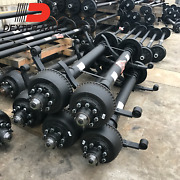 Dexter 12000 Lb Trailer Axle - 8 Lug Electric Brake With Option To Add Springs