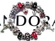 Authentic Pandora Silver Charm Bracelet With Charms Mickey Mouse Dreams Ee73