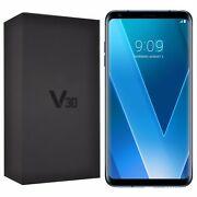 Bnib Lg V30 H930 64gb Moroccan Blue Android Factory Unlocked 4g/lte Gsm Boxed