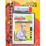 Hohner How To Play Country Harp... Instantly Dvd Book And Harmonica, New