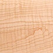 Wood Bowl Blank Curly Tiger Stripe Hard Maple - 6 X 6 X 2-thick