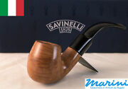 Smoking Pipes Pipe Savinelli 613 Curve Briar Natural Waxed Wood Made In Italy