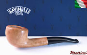 Pipes Pipe Savinelli 316 Ks Briar Natural Waxed Wood Made In Italy