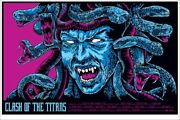 Clash Of The Titans By Ken Taylor - Variant - Rare Sold Out Mondo