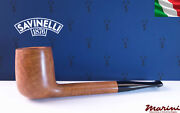 Pipes Pipe Savinelli 802 Briar Natural Waxed Wood Made In Italy