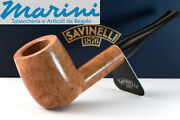 Smoking Pipes Pipe Savinelli 104 Straight Briar Natural Waxed Wood Made In Italy