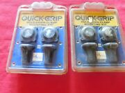 Quick-grip Hold Down Clamp Mounting Setandnbspclamps 2 Sets