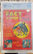 Real Fact Comics 5 - Cbcs 7.0 - The True Story Of Batman And Robin Golden Age