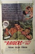 The Raiders Of Leyte Gulf Original Movie Poster One Sheet Movie Pin-up 1963 60's