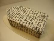 Lynda Ladwig Signed Original Ceramic Wall Art House Sculpture Black White Poem