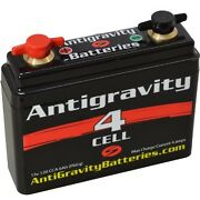 Antigravity 4-cell Lithium Motorcycle Battery 4.25 X 1.25 X 3.75