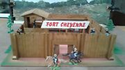 Classic Wooden Fort Cheyenne - Used/good Condition