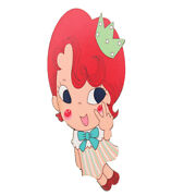 Cute Collectible Cartoon Girls Figure 14 Style Lady Girls Makeup  Mirror