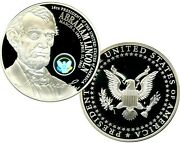 Abraham Lincoln Official Presidential Hologram Commemorative Coin Proof 99.95