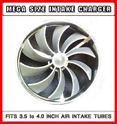 Chrysler V8 Large Air Intake Turbo Supercharger Upgrade For 3.5 To 4 Intakes
