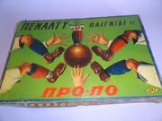 Greece Greek Board Games Penalty The Game With Pro-po 1960 Greek Football Soccer