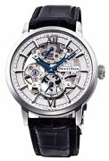 F/s Rk-dx0001s Orient Star Skeleton Automatic Mechanical Menand039s Watch From Japan