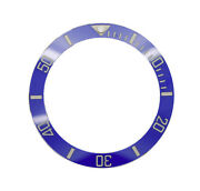 High Quality Blue Ceramic Bezel Insert Made For Rolex Submariner And Gmt Master