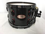 Pearl Reference 12 Mounted Tom/piano Black/redline Series/finish 103