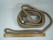 Dock Line1/2 X 25and039 Double Braided Taupe 302112025tp-1 Sea-dog Line