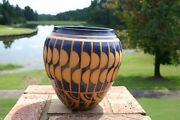 Endleman American Studio Art Pottery Vase, Artist Signed, American Indian Style
