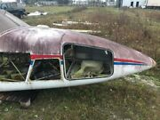 Piper Pa-23-250 Aztec F Model Nose Assembly With Air Scoop And Light