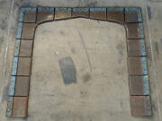 S And S Vintage 17 Tile Fireplace Surround California Arts And Crafts/brown