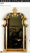 Queen Anne 2-part Beveled Mirror Sells For 16k