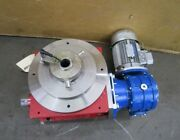 Cds 1p880 11 Rotary Indexer Cam Lobe Indexing Table 440/480v 3ph 281 Ratio