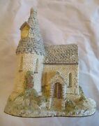 David Winter 1984 The Chapel Signed Dated Hand Made And Painted Euc