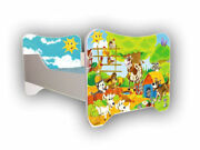 Children Bed, Bed For Girls Boys With Mattress 140x70cm + Free Gift