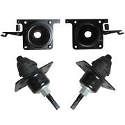 For Volvo White Vn Vnl Hood Release Set Upper And Lower Latches 4 Pcs Brand New