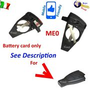 Shell Case Cover Key Blank Me0 Card With Contacts For Battery For Mercedes Class