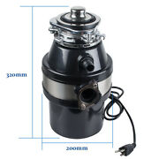 Kitchen Food Waste Disposer Garbage Processor Disposal With Air Switch Free Ship