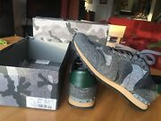 Valentino Menand039s Rockrunner Gray Pre-owned Size 45 Eur 12 Us Worn Only Once