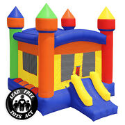Commercial Bounce House 100 Pvc 13 X 13 Inflatable Castle Jump With Blower