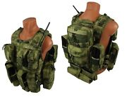 Molle Paintball Milsim Vest Airsoft Modular Chest Rig Kit №53 Atacs Fg A-tacs
