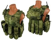 Molle Paintball Milsim Vest Airsoft Modular Chest Rig Kit №54 Atacs Fg A-tacs