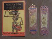 Malaysia And Indo-china Tour Guide With Maps 1926