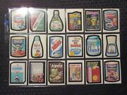 1980 Wacky Packages Sticker Card Lot Of 62 Vf/vf+ Bums Bleeds Ainand039t Lox Dud
