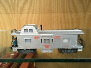 American Flyer S Gauge 25052 Operating Bay Window Caboose Vg To Ex